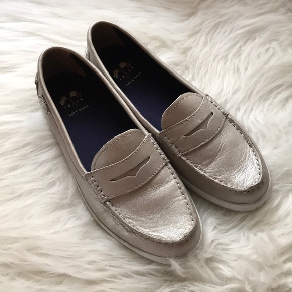 e20a546702c Cole Haan Shoes - Cole Haan Nantucket Loafer in Argento Silver